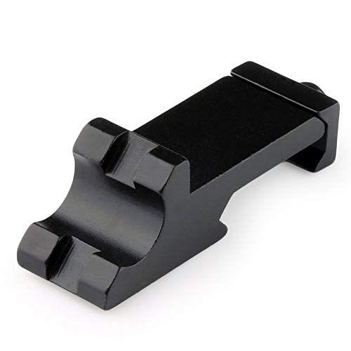 Tactical 45 Degree Angle Offset Side Rail Adapter 20mm Picatinny Rail Weaver Laser Rifle Sight Scope Mount Hunting Caza -
