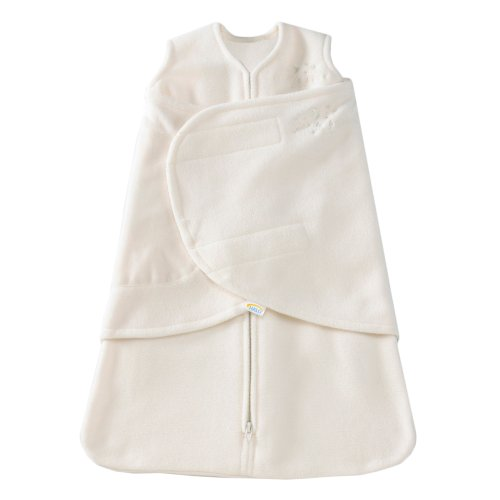 Halo Unisex Baby Sleepsack Swaddle Fleece Sleepsuits Cream 3 -...