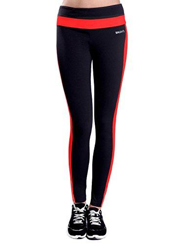 Baleaf Leggings sportivi da donna con tasca nascosta