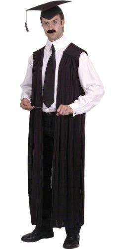 Herren Professor Uniform Graduation Gewand Lehrer Bademäntel Hirsch Do Gelehrten Fancy Kleid Kostüm Outfit (Gelehrte Kostüm)