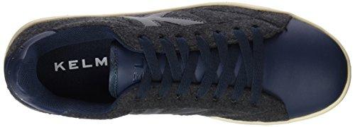 Kelme 16980, Chaussures Mixte Adulte Multicolore (Marino / Gris)