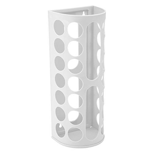 Protenrop 2913723 - Dispensador para reutilizar bolsas de plástico, color blanco