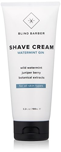 Blind Barber Wild Watermint Gin Shave Cream (Dry/Normal Skin) 150ml -