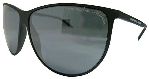 Porsche design p8601, occhiali da sole unisex-adulto, schwarz (schwarz a), medium