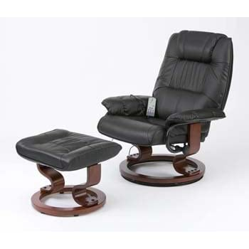 Leather electric massage recliner chair with footstool cream  sc 1 st  Amazon UK & Leather electric massage recliner chair with footstool cream ... islam-shia.org