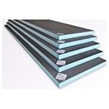 Panel de construcción 1250 x 600 x 10 mm, extruido XPS Valstorm listo para alicatar