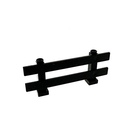 1 x Lego System Zaun schwarz 1 x 8 x 2 2/3 Latten Gatter Garten Zäune Geländer 6079