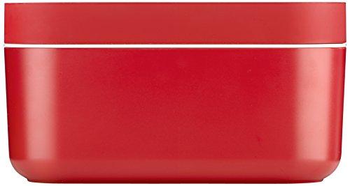 Lekue Ice Box Container mit Überzug, rot