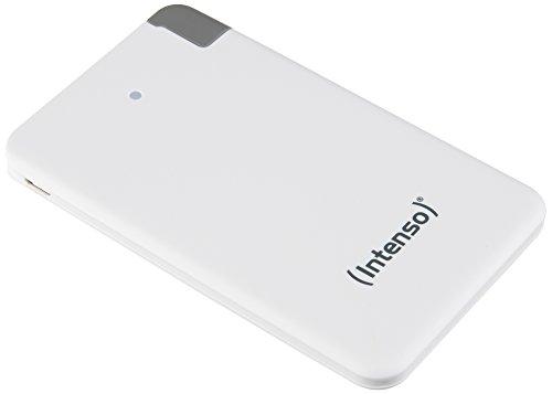 Intenso Powerbank S2500 Slim externes Ladegerät (2500mAh, für Smartphone/Tablet PC/MP3 Player/Digitalkamera) weiß