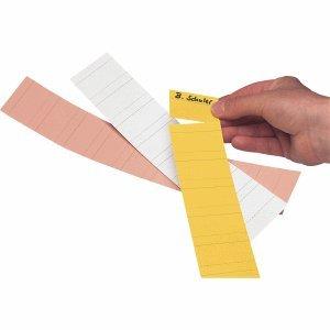 Ultradex Steckkarten für Planrecord/140502 5cm gelb Karton 190 g/qm Inh.90