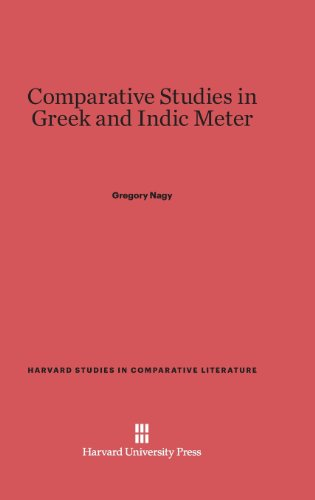Comparative Studies in Greek and Indic