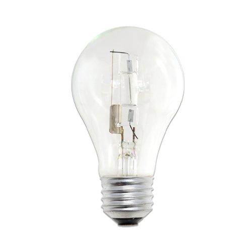 bulbrite Eco Umweltfreundlich Halogen 72W A19, 2er Pack, farblos, E26 72 wattsW 120 voltsV - 2er Pack Glühbirne A19