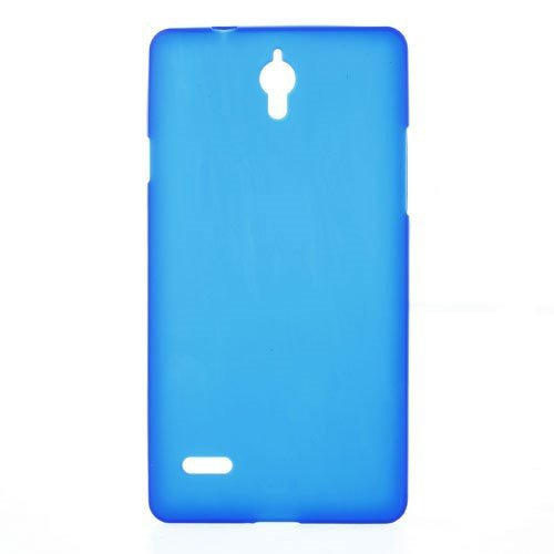 jbTec® TPU-Case / Hülle zu Huawei Ascend G700 - Handy-Schutzhülle, Farbe:Grau-Transparent