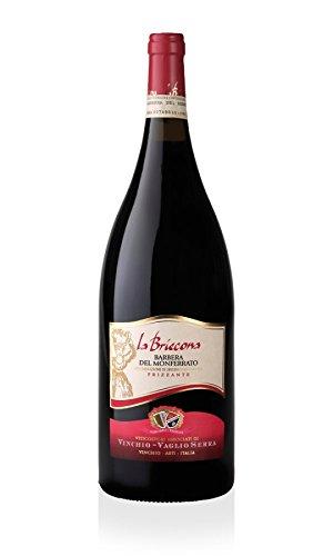 Vinchio Vaglio Serra - La Briccona - Barbera del Monferrato D.O.C. Frizzante Magnum 1,5 lt.