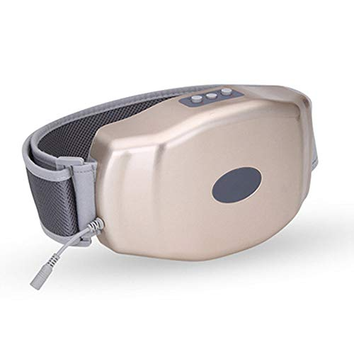 SMGPYNFJ Damen Warm Palace Gürtel, Hot Shock Bauchmassage Instrument, Kneten Bauch Taille Vibration Gürtel Massagegerät
