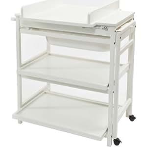 Quax - Table à langer - Table a langer / meuble de bain Quax Comfort Luxe - blanc