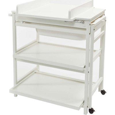 Preisvergleich Produktbild Quax - Table à langer - Table a langer / meuble de bain Quax Comfort Luxe - blanc