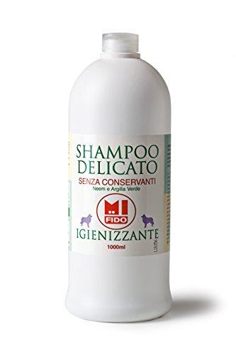 Argital Linea Mi Fido - Shampoo per Cani Igienizzante con olio di Neem 1 lt