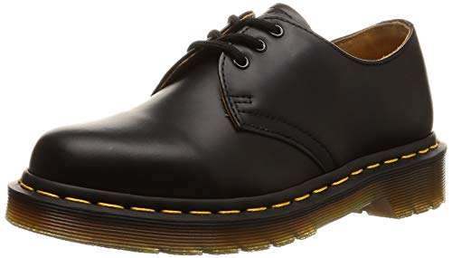 Dr. Martens 1461Z Smooth Cherry, Scarpe basse stringate Unisex - Adulto, Nero (Black Smooth Z Welt), 37 EU (4 uk)