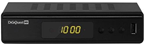 Digitaler HDTV DVB-T/T2 HEVC H.265 Receiver von DigiQuest ( HDMI, SCART, Display, USB 2.0)