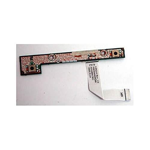Toshiba k000026730Platte des Powerbutton Notebook-Ersatzteil-Komponente für Laptop (Platte des Power-Taste, M60, M65) -