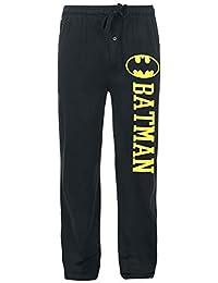 ... Hombre : Ropa interior : Batman. Batman Logo Pantalones de Pijama Negro