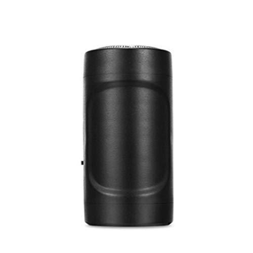 Mini-Rasierer USB Apple Android Mini-Epilierer Outdoor-Reise-Taschenlampe Mini Pocket (Schwarz)