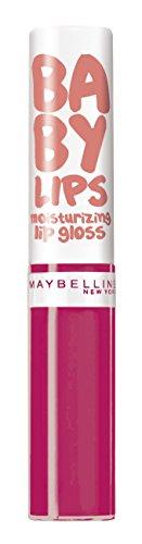 Maybelline Baby Lips, Gloss Labial, Moisturizing 35 Fab And Fuchsia - 1 Gloss...