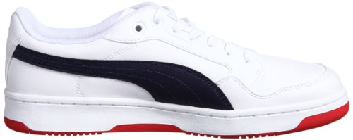 Puma  Puma Rebound FS 4 Lo, Low-top homme Bianco (Weiß (white-peacoat 05))