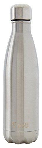 Swell Botella Termo, Acero Inoxidable, Plateado, 7.11x7.11x26.4 cm