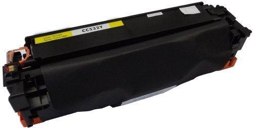 Bubprint Toner kompatibel für HP CC532A 304A für Color Laserjet CM2320FXI CM2320NF CM2320N MFP CP2000 CP2020 CP2025 CP2025N CP2025DN 2800 Seiten Gelb -