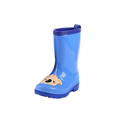 Kinder Rain Boots,Blauer Koala Regenschuhe Tierkarikatur Wasserdichte Regenstiefel Unisex-Baby Krabbelschuhe - Für Koala Baby-schuhe Mädchen