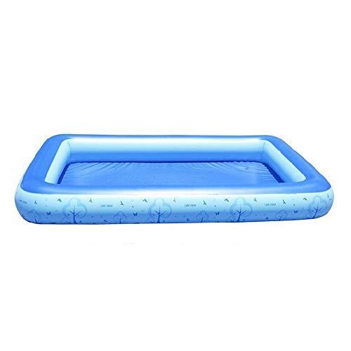 MUMUMI Super große aufblasbare Pool Kinder Pool Familie Erwachsene Kinder Marine Ball Pool einfache tragbare Spiel Pool Game Boy Girl Kind/Geburtstagsfeier Kind - Boy Mit Game M