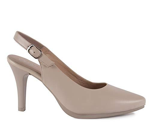 Chamby-Zapatos salón Destalonados Piel -Planta Gel