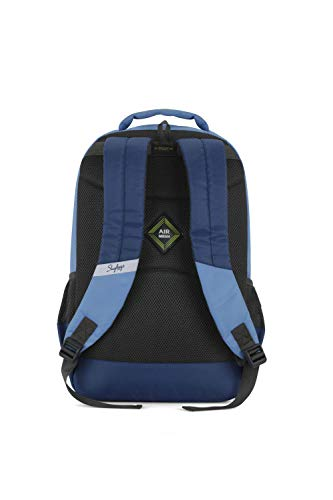 Best skybags backpack in India 2020 Skybags Beatle 01 27 Ltrs Blue Casual Backpack (Beatle 01) Image 4