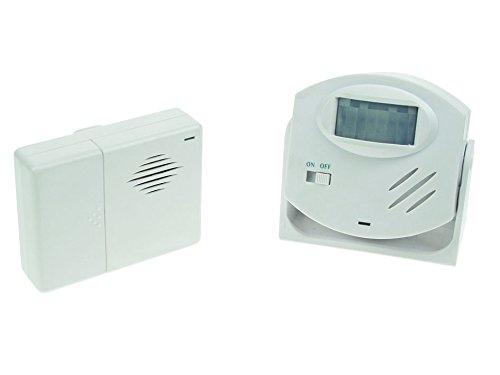 Velleman - HAM25 Alarm-turklingel mit pir-melder 221009 Alarm Glockenspiel