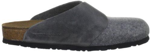 Birkenstock Basel , Chaussures mixte adulte Gris (Gris acier)