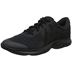 Nike Revolution 4 (GS), Zapatillas de Deporte Unisex Adulto, Multicolor (943309 004 Negro), 38 EU