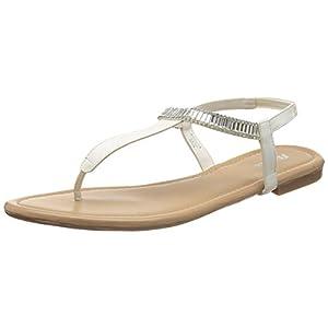 BATA Women's Adra White Fashion Sandals