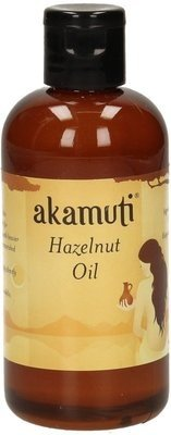 AKAMUTI Haselnussöl - Antioxidative Pflege für trockene Haut und trockenes Haar - Fördert die Zellregeneration - 100 ml