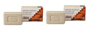 argital-vegetable-soap-with-green-clay-and-sweet-almond-2-packs-of-100-g-gently-cleanses-and-in-dept