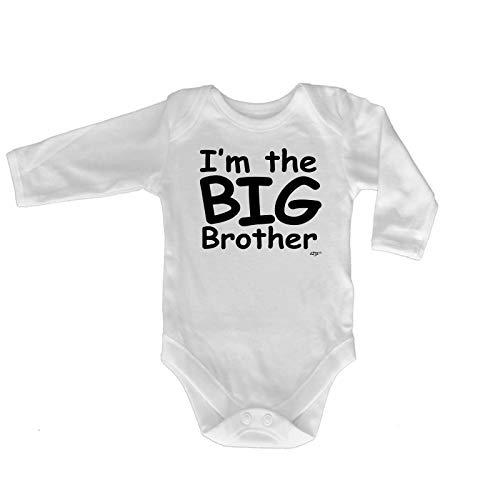 Big-brother-baby-strampelanzug (Lustiger Baby-Strampler - Jumpsuit Strampelanzug, Marke 1273 Gr. 3-6 Monate, Im The Big Brother Baby)