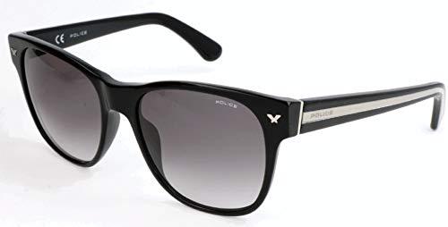 Police Herren SPL164 Sonnenbrille, Schwarz, 55