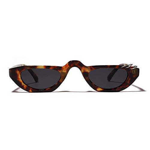 txyang Cat Eye Sonnenbrillen Damen Herren Sonnenbrillen Retro Flat Top Sonnenbrillen