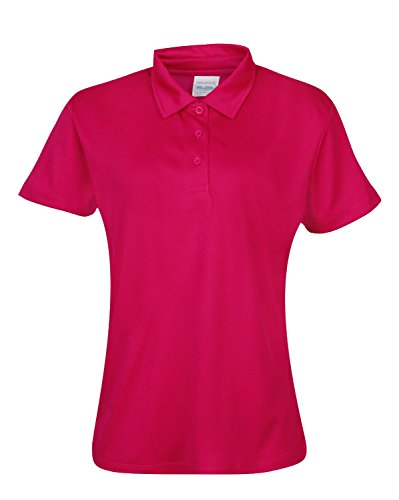 Girlie Cool Polo-Shirt Hot Pink