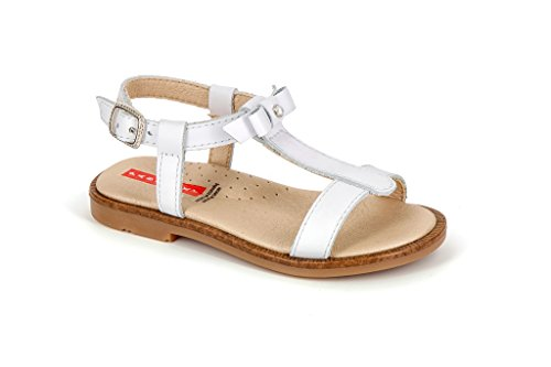 Pablosky Unisex, bambini 432800 Sandali con fibbia Bianco Size: 26