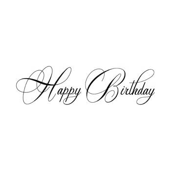 Motivstempel * Bilderstempel * Stempel * Happy Birthday