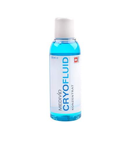 MEDIVID CRYO Fluid Konzentrat zur Kühlung von Verletzungen / Schmerzlinderung bei Sportverletzungen mittels Bandage - 125 ml Konzentrat zum Verdünnen, für mind. 15 Anwendungen