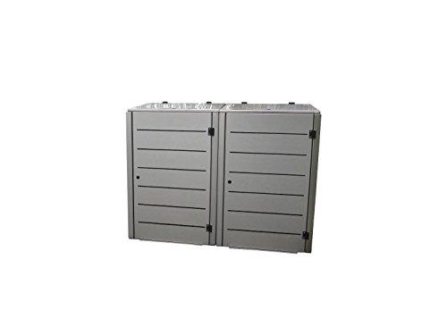 Mülltonnenbox für eine 120 Liter Tonnen, Modell Eleganza Line - 5