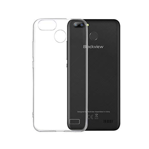 Blackview A7 pro Hülle, Transparent TPU Silikon Handyhülle Kratzfest Durchsichtige Schutzhülle Flex Case für Blackview A7 pro [Crystal Clear]